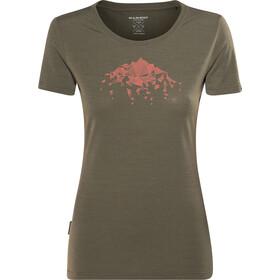 Mammut Alnasca T-Shirt Femme, iguana